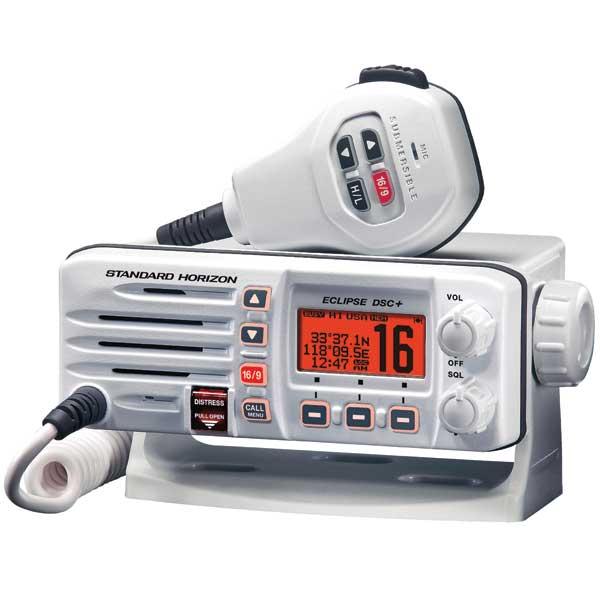 Standard Horizon Eclipse DSC+ GX1200 Fixed VHF Radio, White Sale $74.77 SKU: 14273015 ID# GX1200W :