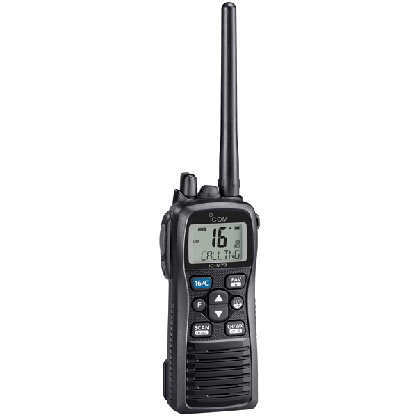 M73 Submersible Handheld VHF Radio