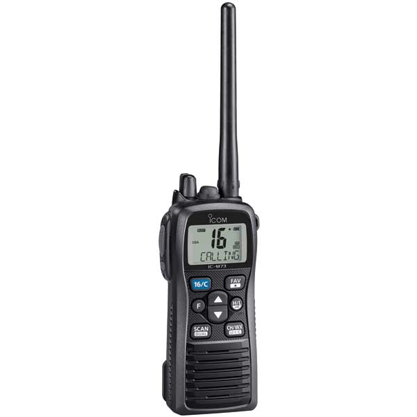 M73PLUS Handheld VHF Radio with Voice Recorder