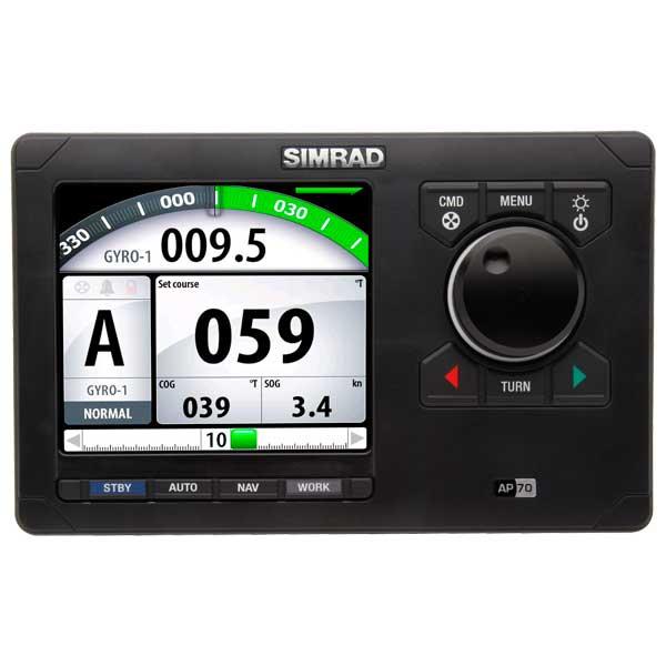 Simrad AP70 Autopilot Control Sale $1499.99 SKU: 14273940 ID# 000-10182-001 UPC# 9420024108116 :