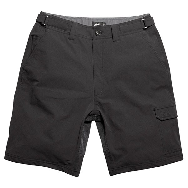 Men's Deck Shorts, Black, 32