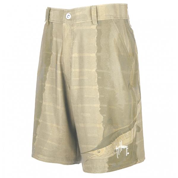 Guy Harvey Men's Marlin Skin Hybrid Walk Shorts, Khaki, 38 Sale $54.99 SKU: 14285035 ID# MH28101-KHK38 UPC# 54683369121 :