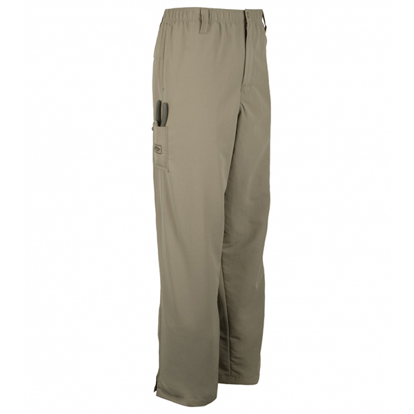 Men's Original Pullover Fishing Pants, Putty, M