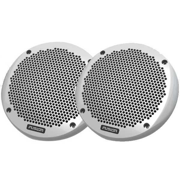 Fusion 6 Shallow Mount Speakers, White