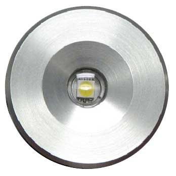 Lumitec Lighting Echo - Courtesy Light, Brushed Finish, Blue, 10-16vDC, 30mA