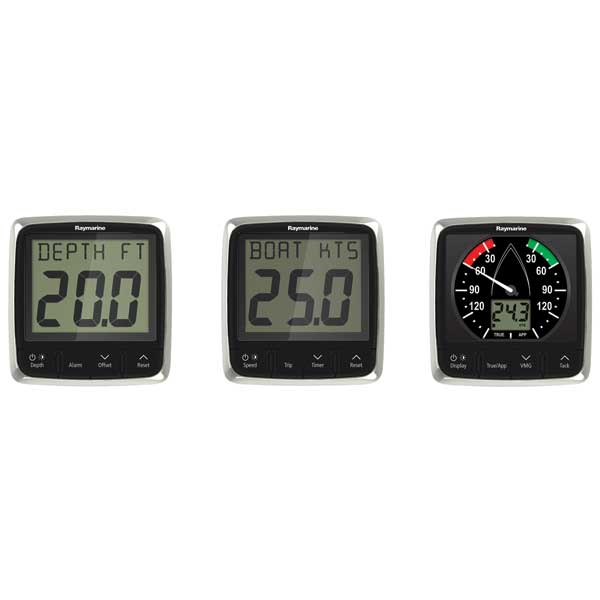 Raymarine i50 & i60 Speed/Depth/Wind Value Pack