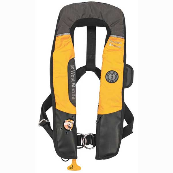 West Marine Hydrostatic Inflatable Life Vest With Harness
