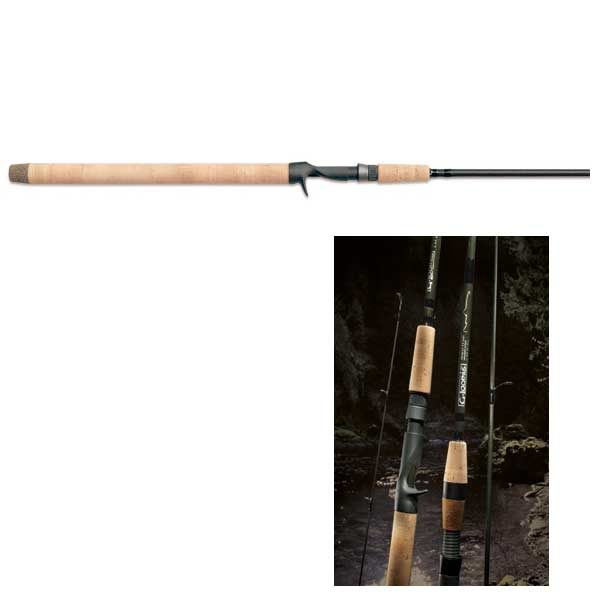 Gloomis Steelhead Series Conventional Casting Rod, Medium Light Power, 6-12lb. Line Class, 9'8
