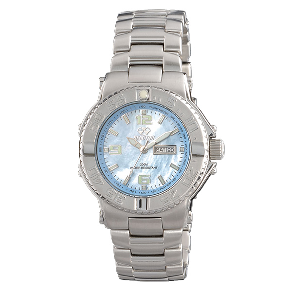 Reactor Women's Critical Mass Stainless Steel Bracelet Watch, Powder Blue