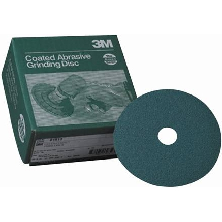 3M Green Corps Fiber Disc - 7, 50-Grit, 20 Pk