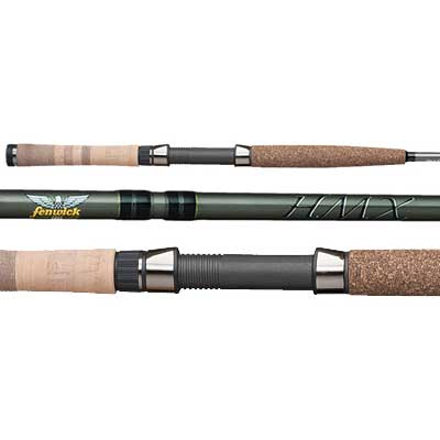 Fenwick HMX Steelhead Spinning Rod, Medium Power, 10-25 lb. Line Class, 9'