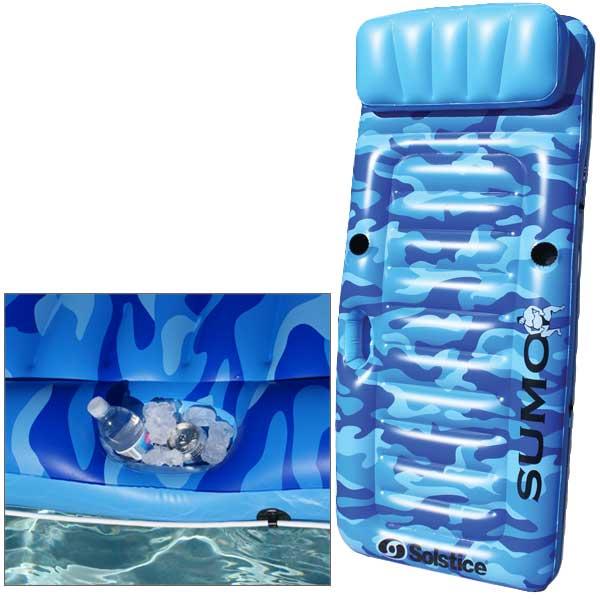 Solstice SumoFloat Pool Mattress Sale $39.99 SKU: 14364103 ID# 16140 UPC# 723815161406 :