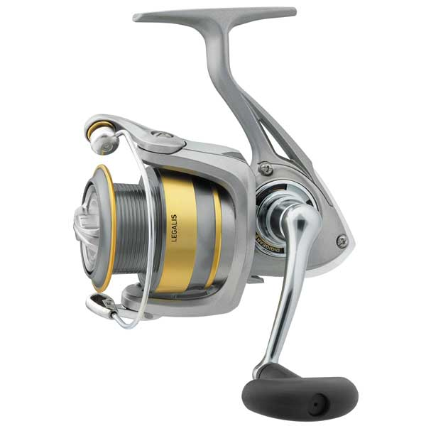 click for Full Info on this Daiwa Legalis Spinning Reel  Mh/m  7bb  1rb  13.2 Max Drag  6.2:1 Gr  41.4' Line  10/240  12/210  14/170 Yd/tst  13.0 Oz.