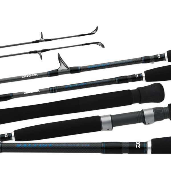 Daiwa Saltist Jigging Rod, Medium Power, 15-40lb. Line Class, 6'6