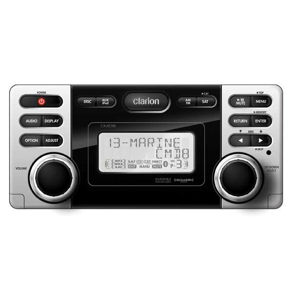 Clarion CMD8 Watertight Marine Stereo Sale $249.99 SKU: 14367494 ID# CMD8 UPC# 729218019986 :