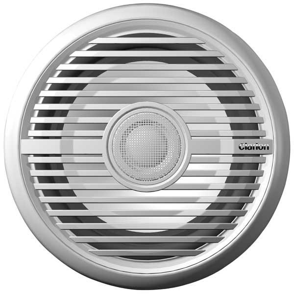 Clarion 2-Way Marine Coaxial Speaker, Water Resistant, 6 1/2, 100W