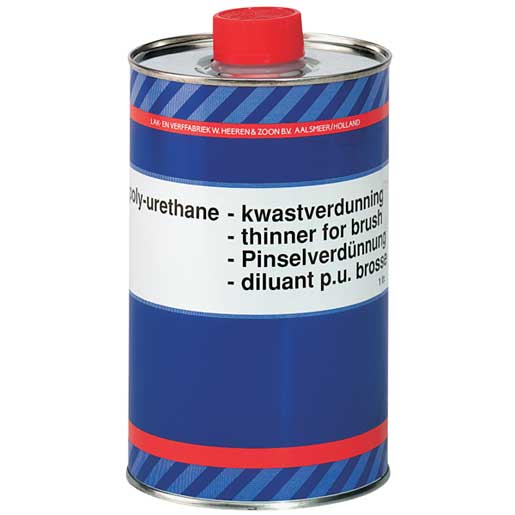 Brushing Thinner for Epifanes Two-Part Polyurethane Paint, 1000ml Sale $34.99 SKU: 14371272 ID# PUTB.1000 UPC# 8715559952053 :