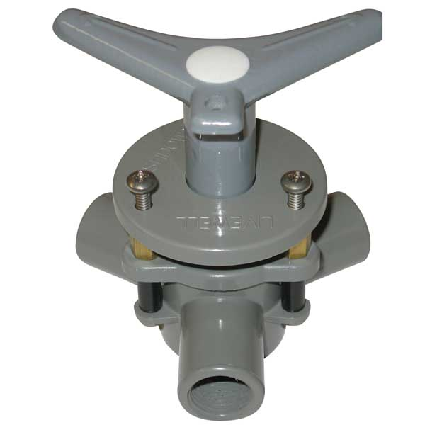 Bosworth Diverter Valve, 1/2 Dia, 1/2 Hose, Flush Mount