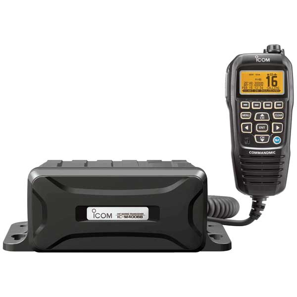 ICOM M400BB Black Box DSC VHF Radio—Black CommandMIC IV Sale $399.99 SKU: 14413934 ID# IC-M400BB 11 UPC# 731797015433 :