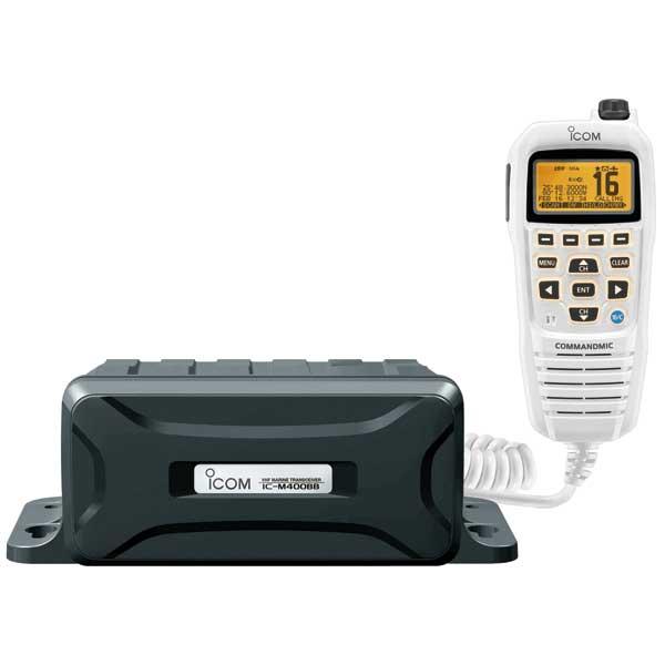 ICOM M400BB Black Box DSC VHF Radio—White CommandMIC IV Sale $399.99 SKU: 14413942 ID# IC-M400BB 21 UPC# 731797014733 :