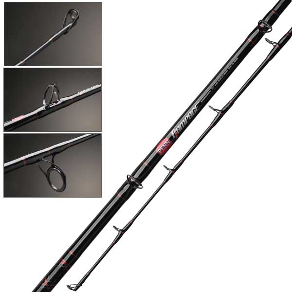 Penn rampage boat casting rods west marine for Heavy duty fishing rods