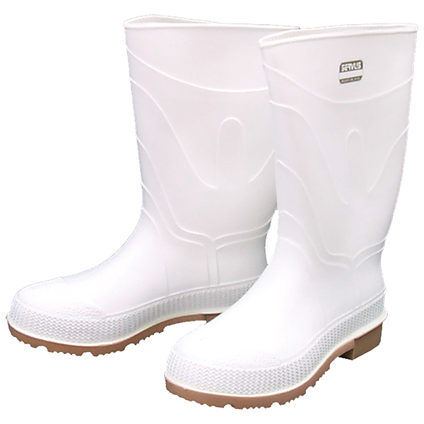 Men's Shrimp Boots, White, 8