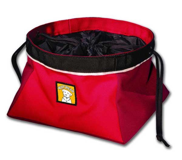 Ruffwear Quencher Cinch Top Portable Dog Bowl, Red Sale $8.77 SKU: 14474068 ID# 2055-615M UPC# 748960533021 :