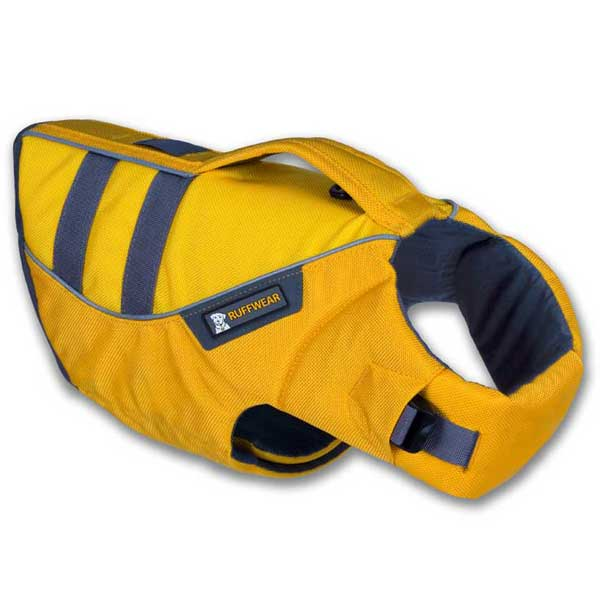 Ruffwear K-9 Float Coat Dog Life Jacket, Yellow, M, 27-32