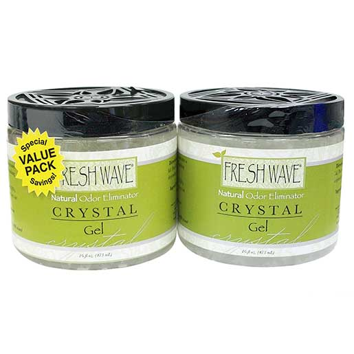 Freshwave Fresh Wave Deodorizing Gel Crystals, 16oz. 2-Pack