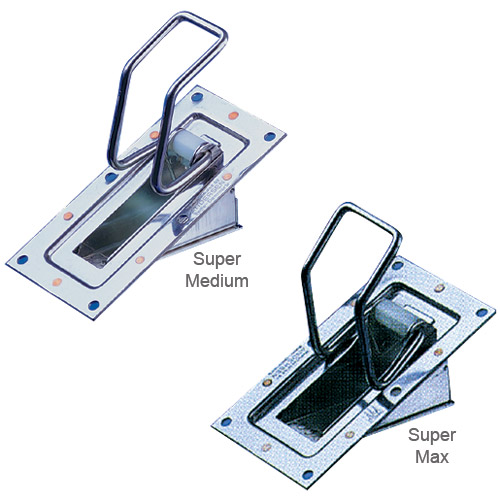 Andersen Super Medium Automatic Bailer, Cutout Size 1-3/4 x 4-3/8, Inside Mount, Weight 9.6 oz.