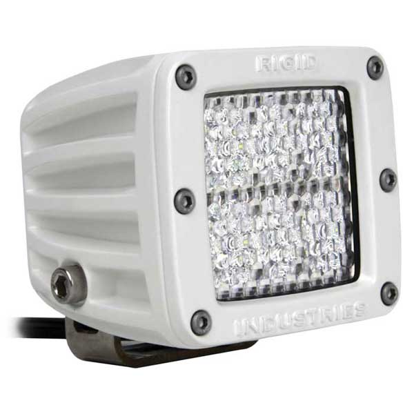Rigid Industries M-Series Dually D2 Diffused, Flood Lens, 3030 Lumen, 133 yard max. distance; 3732 Candlepower, 34.5 Watts