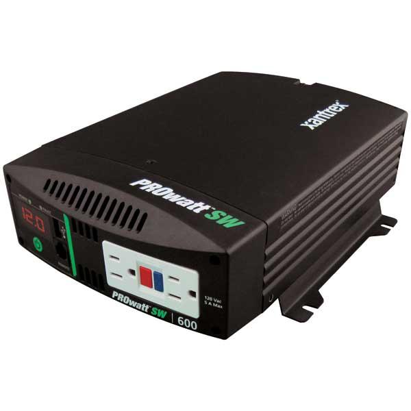 Xantrex PROwatt SW Power Inverter, 600, 1000 and 2000 Watts - 120 Vac / 60Hz Sale $209.99 SKU: 14567895 ID# 806-1206 UPC# 715535894061 :