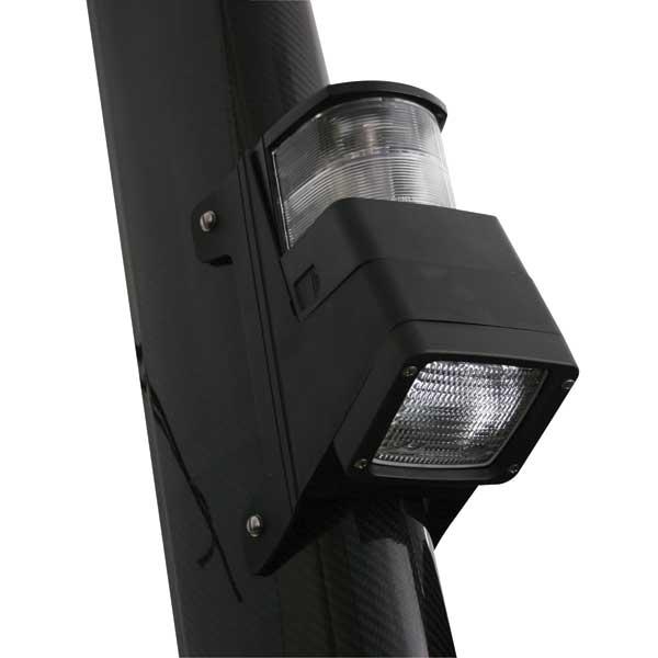 Hella Marine 8504 Series Masthead/Floodlight Lamp, Halogen, Black Housing, 12V Sale $134.99 SKU: 14568455 ID# 998504001 UPC# 760687622123 :