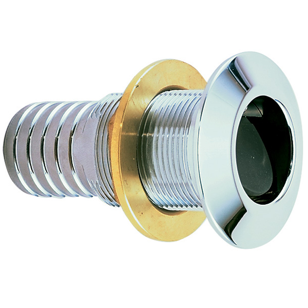 Perko Thru-Hull Connection for use with Hose, 2, Chrome Sale $214.99 SKU: 14568653 ID# 0377A09CHR UPC# 85226339684 :
