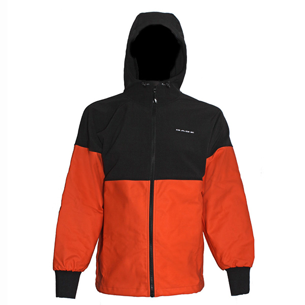 Men's Gage Ragnar Jacket, Black/Orange, XS