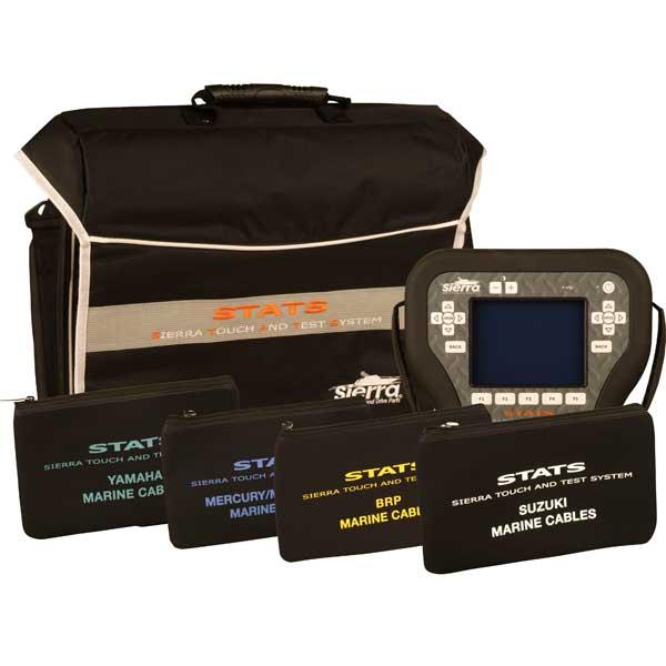 Sierra STATS Diagnostic System Complete Kit For: Mercury/Mercruiser/MEFI, BRP,Yamaha, Suzuki Sale $5719.00 SKU: 14606339 ID# 18-SD102 UPC# 808282304843 :