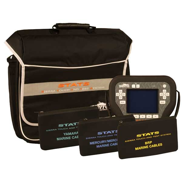 Sierra STATS Diagnostic System Complete Kit For: Mercury/Mercruiser/MEFI, BRP, Yamaha Sale $4459.99 SKU: 14606347 ID# 18-SD103 UPC# 808282304850 :