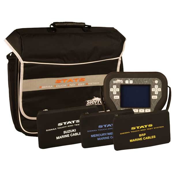 Sierra STATS Diagnostic System Complete Kit For: Mercury/Mercruiser/MEFI, BRP, Suzuki Sale $4839.99 SKU: 14606354 ID# 18-SD104 UPC# 808282304867 :