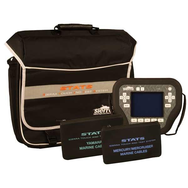 Sierra STATS Diagnostic System Complete Kit For: Mercury/Mercruiser/MEFI, Yamaha Sale $3889.99 SKU: 14606362 ID# 18-SD105 UPC# 808282304874 :
