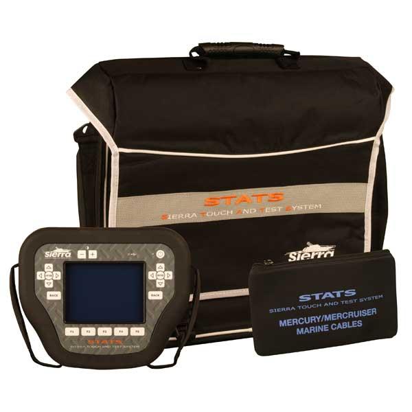 Sierra STATS Diagnostic System Complete Kit For: Mercury/Mercruiser/MEFI Sale $3499.99 SKU: 14606370 ID# 18-SD106 UPC# 808282304881 :