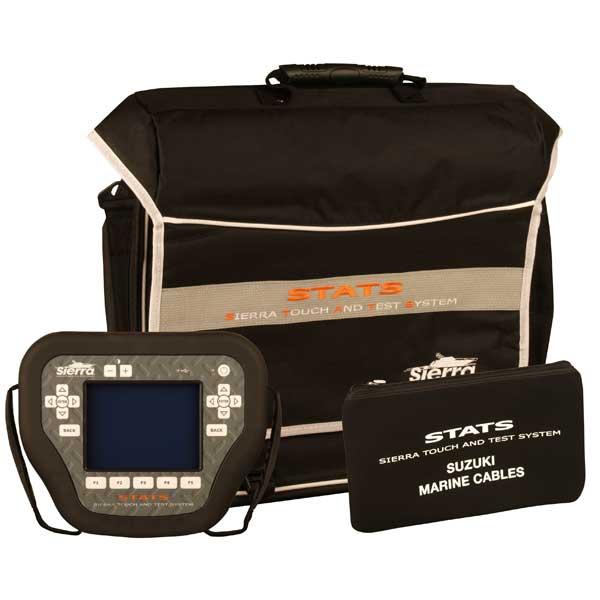 Sierra STATS Diagnostic System Complete Kit For: Suzuki Sale $3819.99 SKU: 14606404 ID# 18-SD109 UPC# 808282304911 :