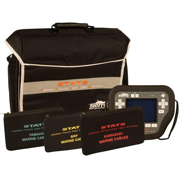 Sierra STATS Diagnostic System Complete Kit For: SeaDoo/Yamaha/Kawasaki Sale $5099.99 SKU: 14606412 ID# 18-SD110 UPC# 808282304928 :