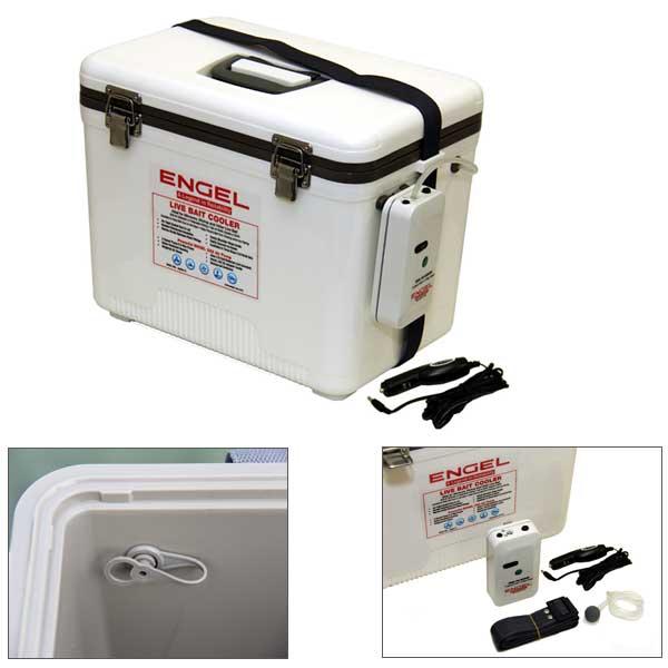 Engel Live Bait Cooler, 19qts. Sale $97.99 SKU: 14626477 ID# ENGLBC19 UPC# 45635163331 :