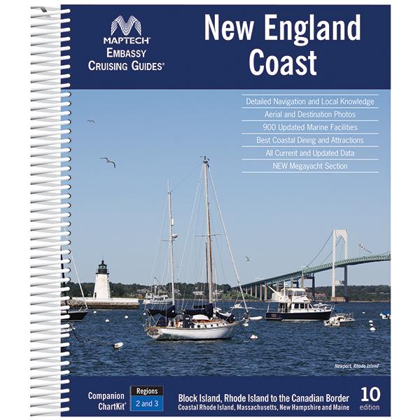 Maptech New England Coast, 10th Edition Sale $44.99 SKU: 14628226 ID# CGNE-10 :