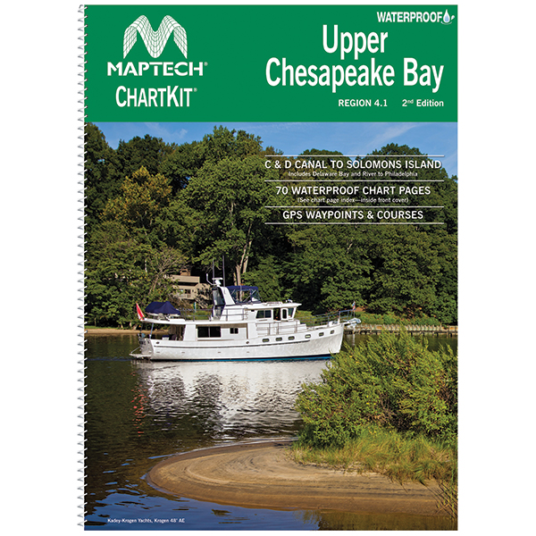 Maptech Upper Chesapeake Bay Chartkit, 2nd Edition