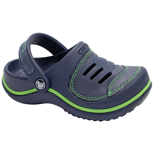 Kids' Yukon Clogs, Navy, 1