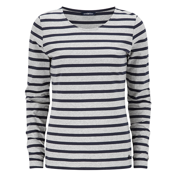 Women's Ailsa Long-Sleeve Tee, Navy, S