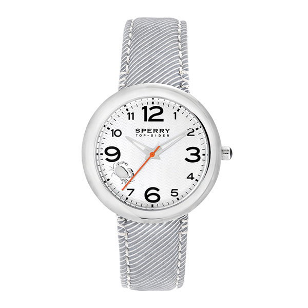 Women's Sandbar Watch, Silver/White