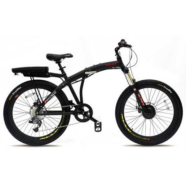 Phantom X Lite Electric Bike 9 Speed, 36V, 300W