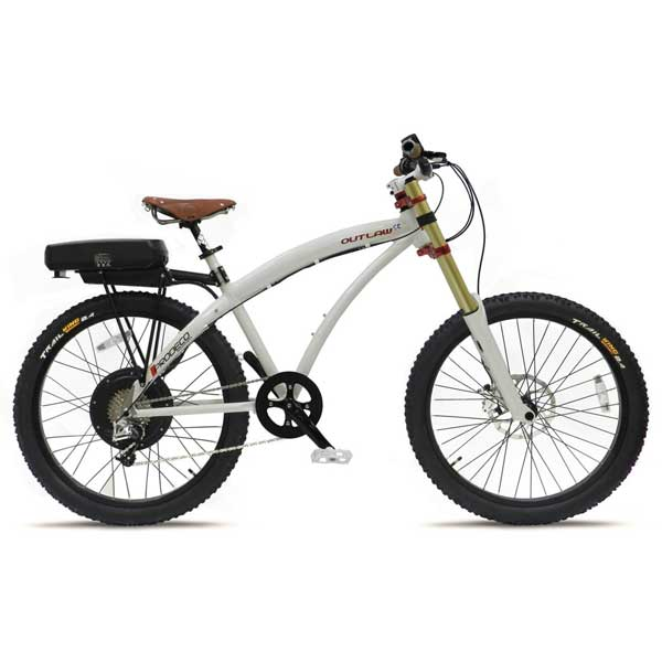 Prodeco Technologies Outlaw SE Electric Bike 8 Speed, 48V, 750W